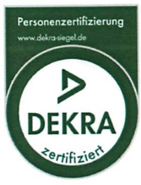 DEKRA SIEGEL - Ganz offiziell