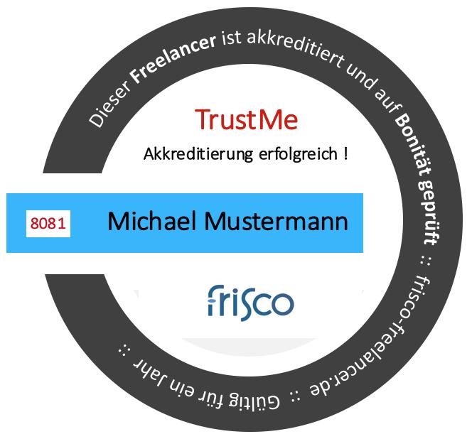 TrustMe Frisco Gütesiegel